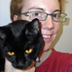 JaneA Kelley, Webmaster & Chief Cat Slave at Paws and Effect: Advice by cats, for cats and their people