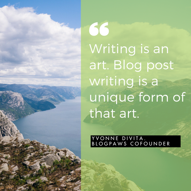 Writing as Art Form