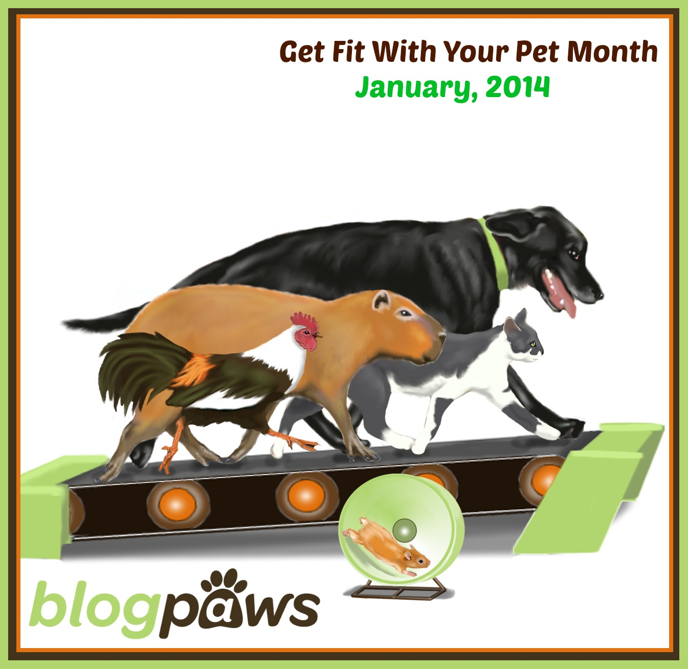 Get Fit with Your Pet Month