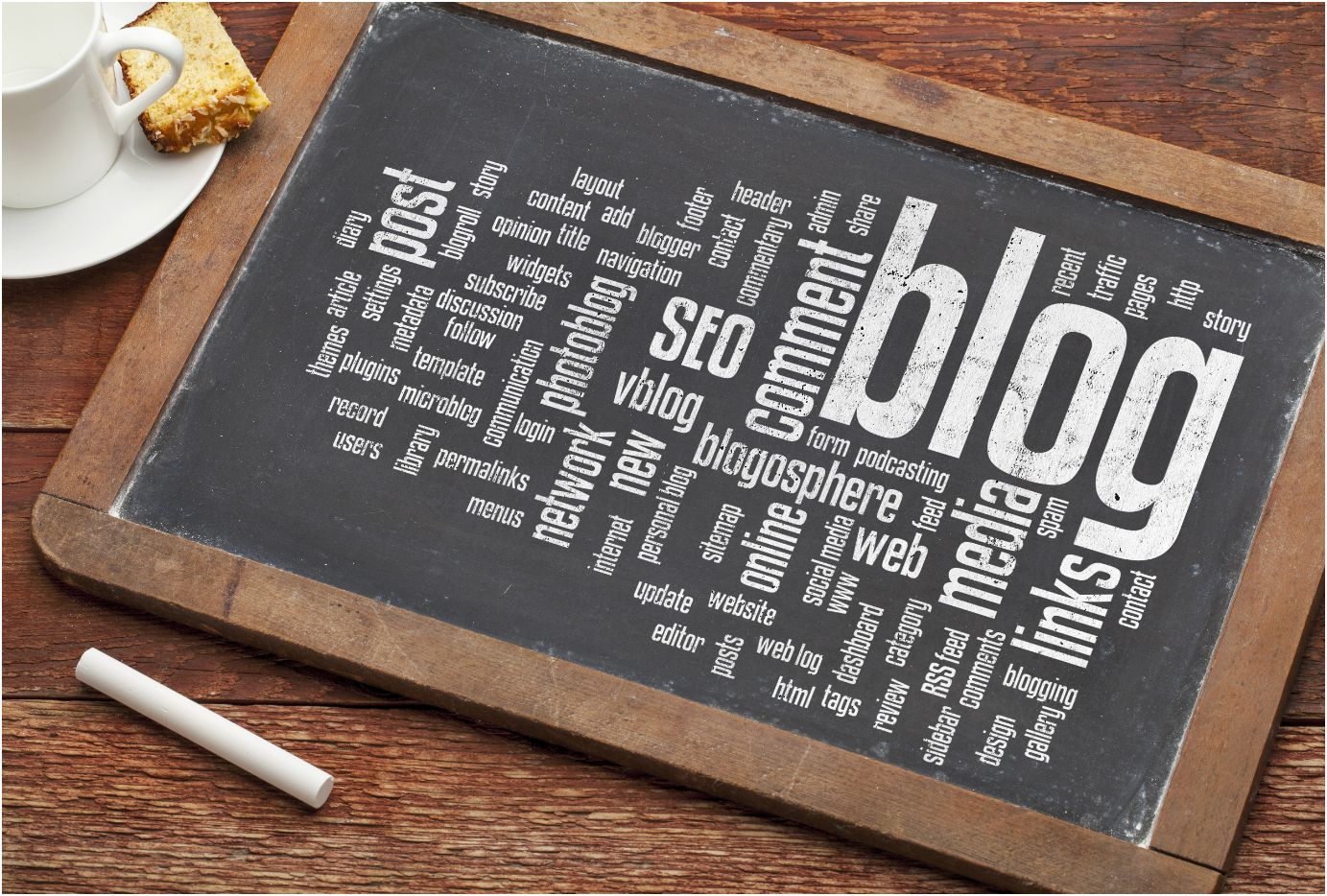 Blogging is an ongoing effort. Photo courtesy Shutterstock.