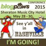 """I'm Going to BlogPaws 2015! Join me!"""