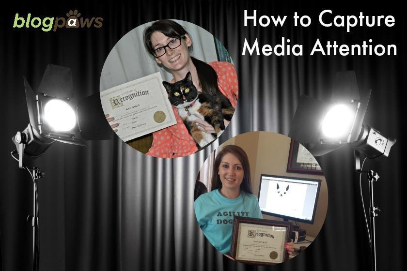 Pet blogger media attention