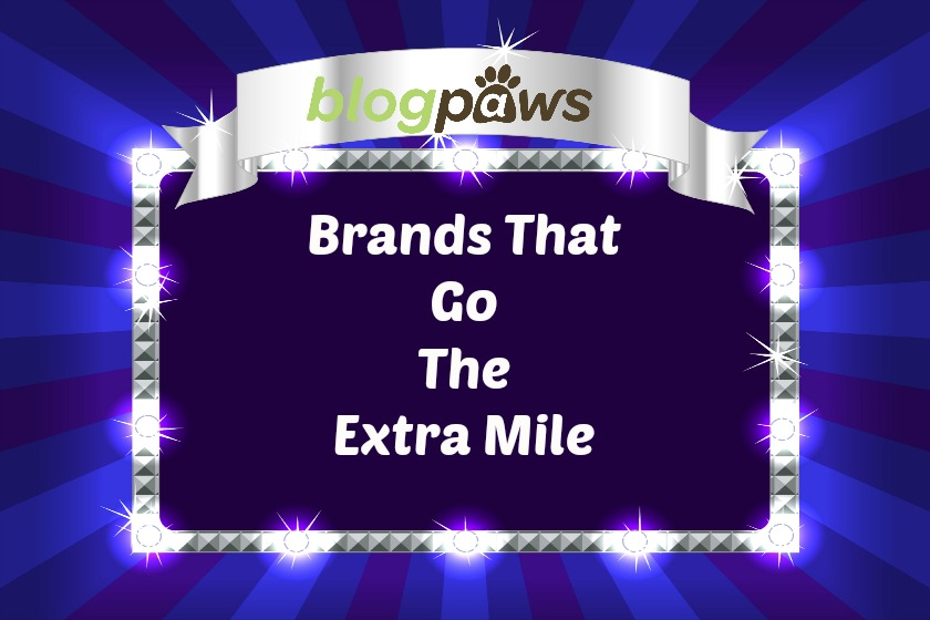 BlogPaws Brands Go the Extra Mile
