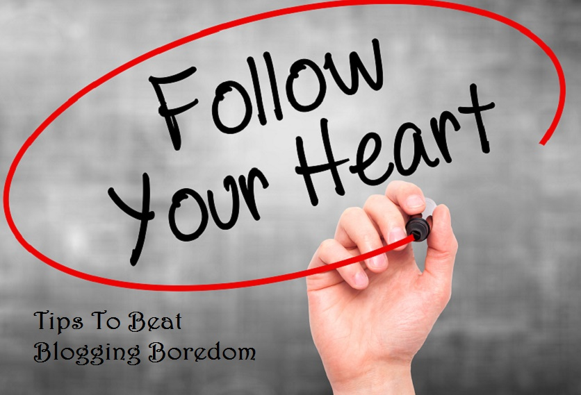 beat blogging boredom