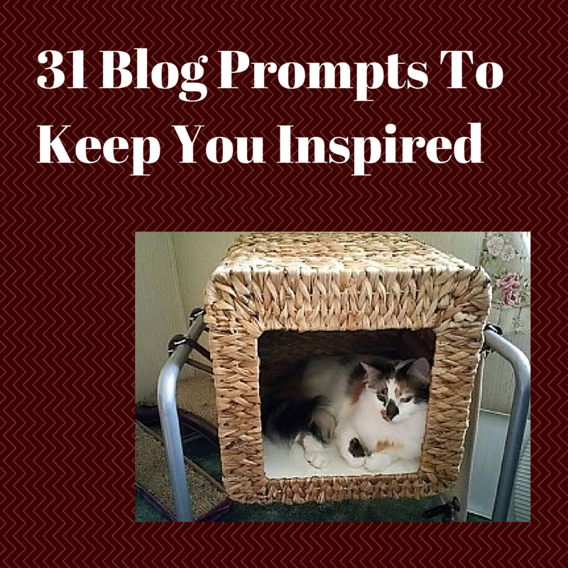 31 Blog Prompts To Keep You Inspired