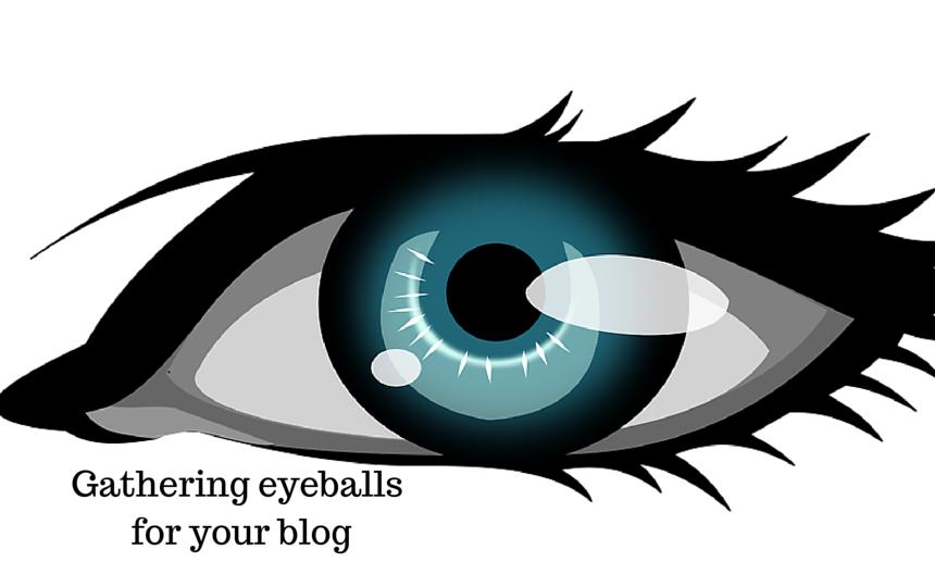 Gathering eyeballs for your blog