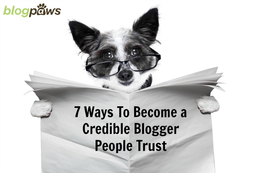 How to become a credible blogger