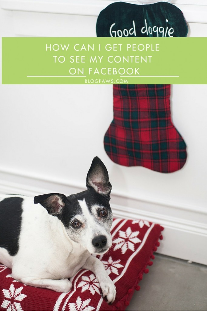 How to get content seen on Facebook