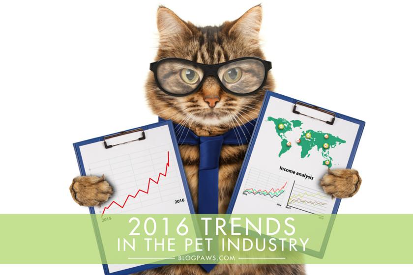 2016 Pet Industry Trends Hero