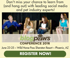 BlogPaws Pet Blogger Conference 2016