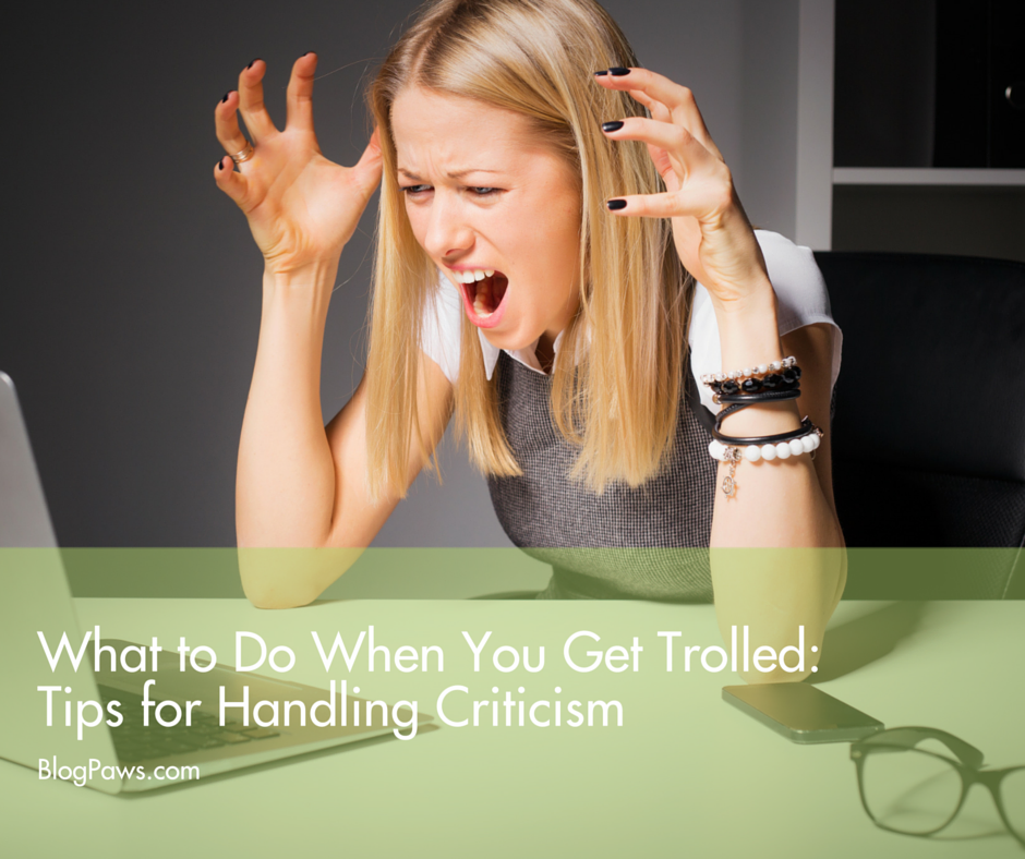 What to do when you get trolled