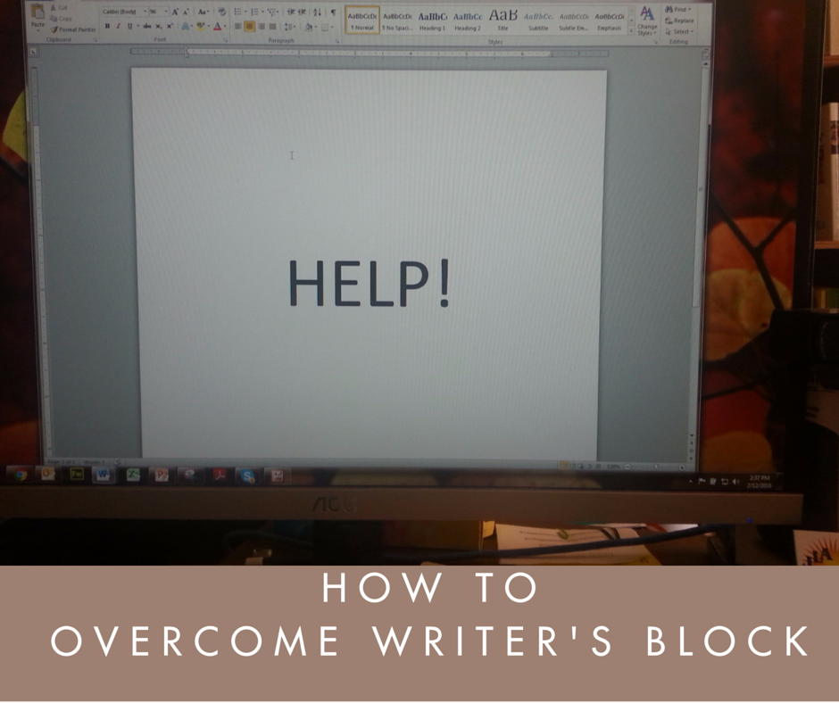 How to Overcome Dreaded Writer's Block