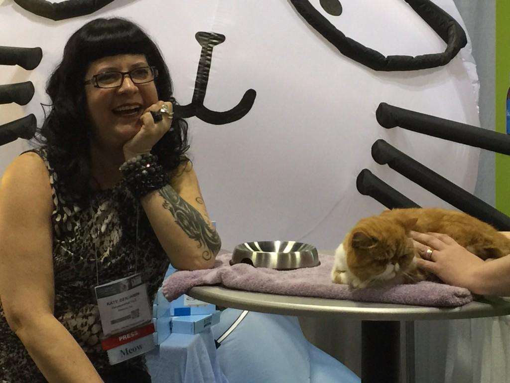 Kate Benjamin and Dr. Catsbys