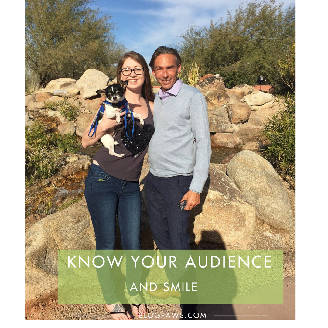 Smile at your audience when public speaking