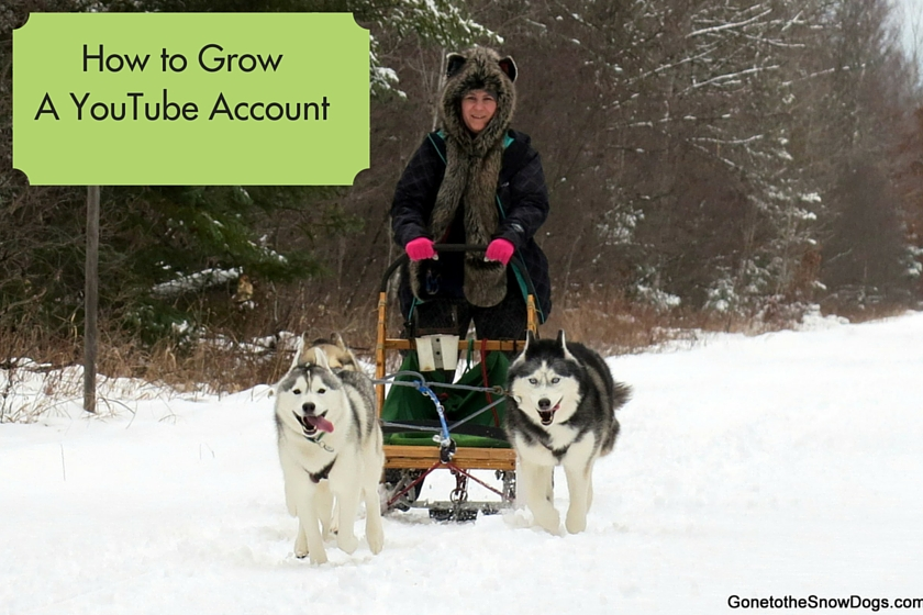 How to Grow A YouTube Account
