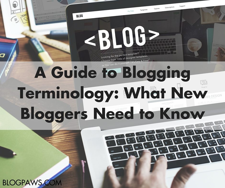 A Blogging Terminology Guide FB