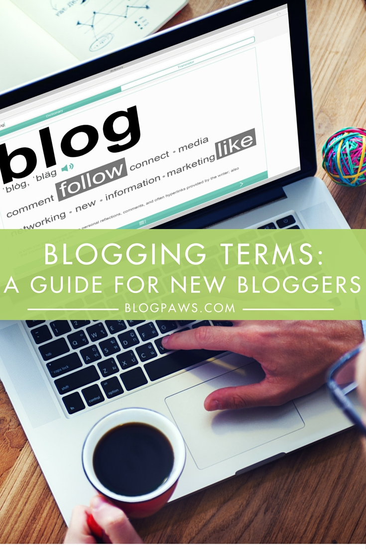A Blogging Terminology Guide