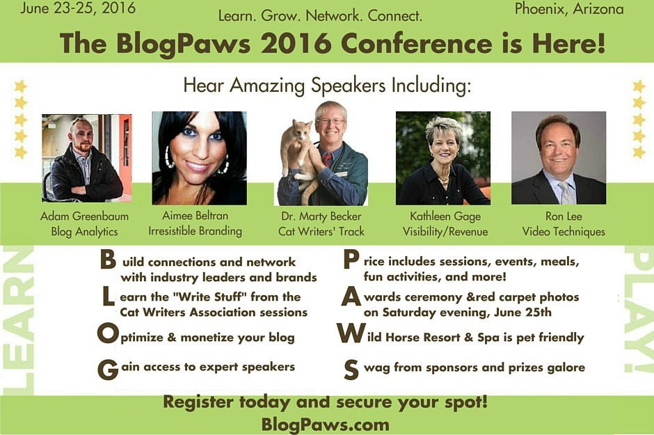 Conference speakers at BlogPaws
