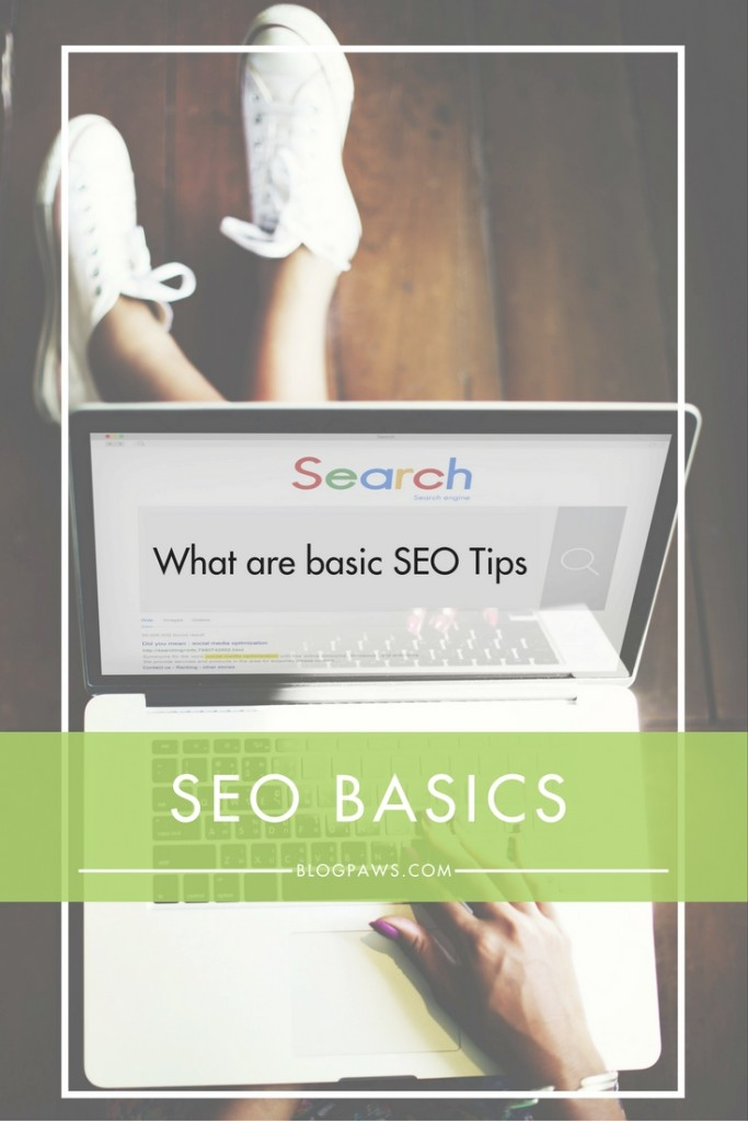 SEO basics for blogger