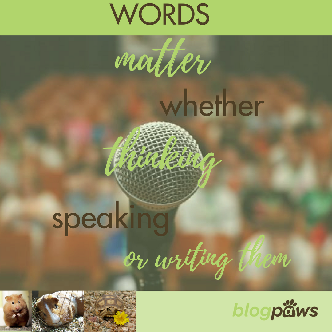 Words Matter Thinking Speaking or Writing