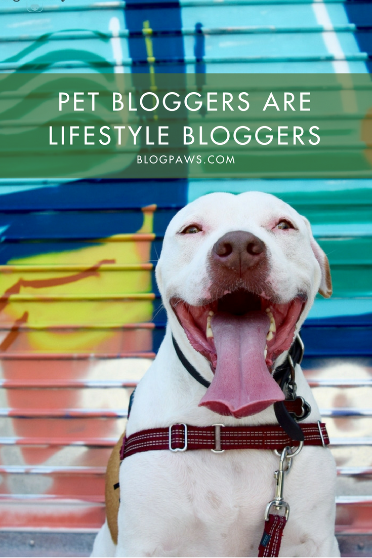 Pet Bloggers ARE Lifestyle Bloggers | BlogPaws.com