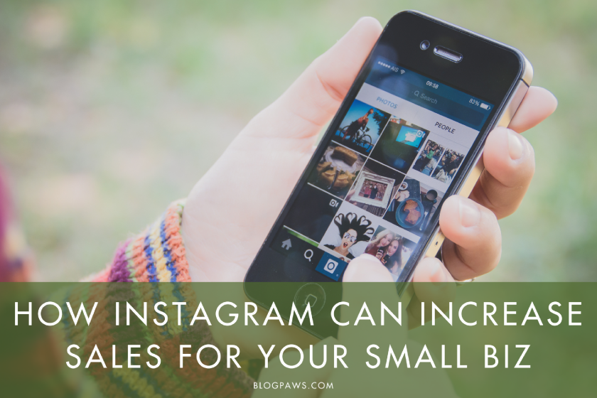 How to Use Instagram to Increase Small Business Sales | BlogPaws.com