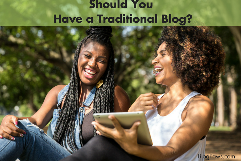 Are blogs dying?