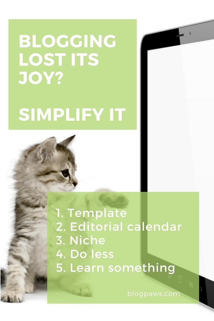 simplify your blog post tasks