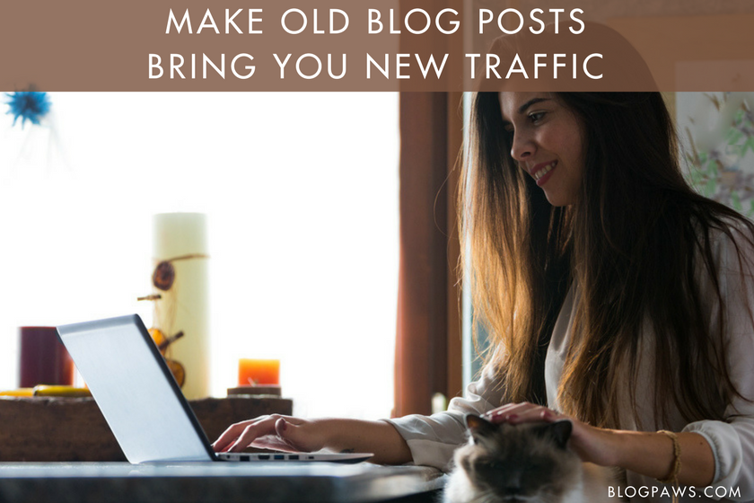 New Traffic for Older Blog Posts