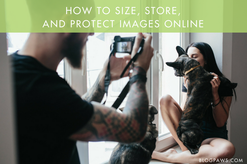 How to size, store, and protect images