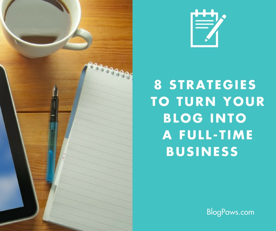 turn blog into business