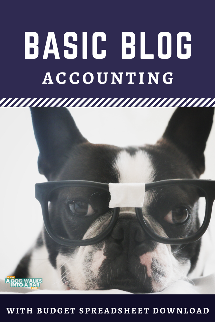 Basic Blog Accounting