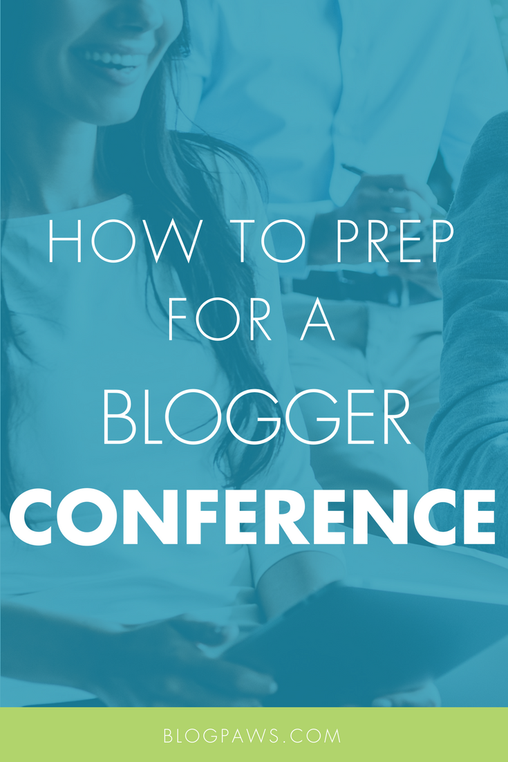 How To Prep for A Blogger Conference like BlogPaws.