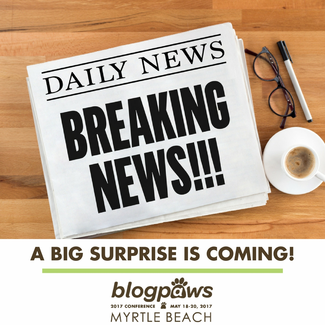 BlogPaws Conference surprise