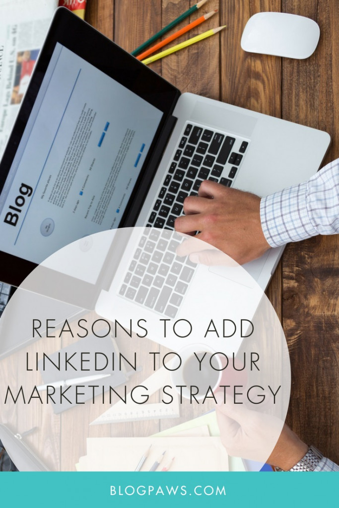add linkedin to marketing strategy
