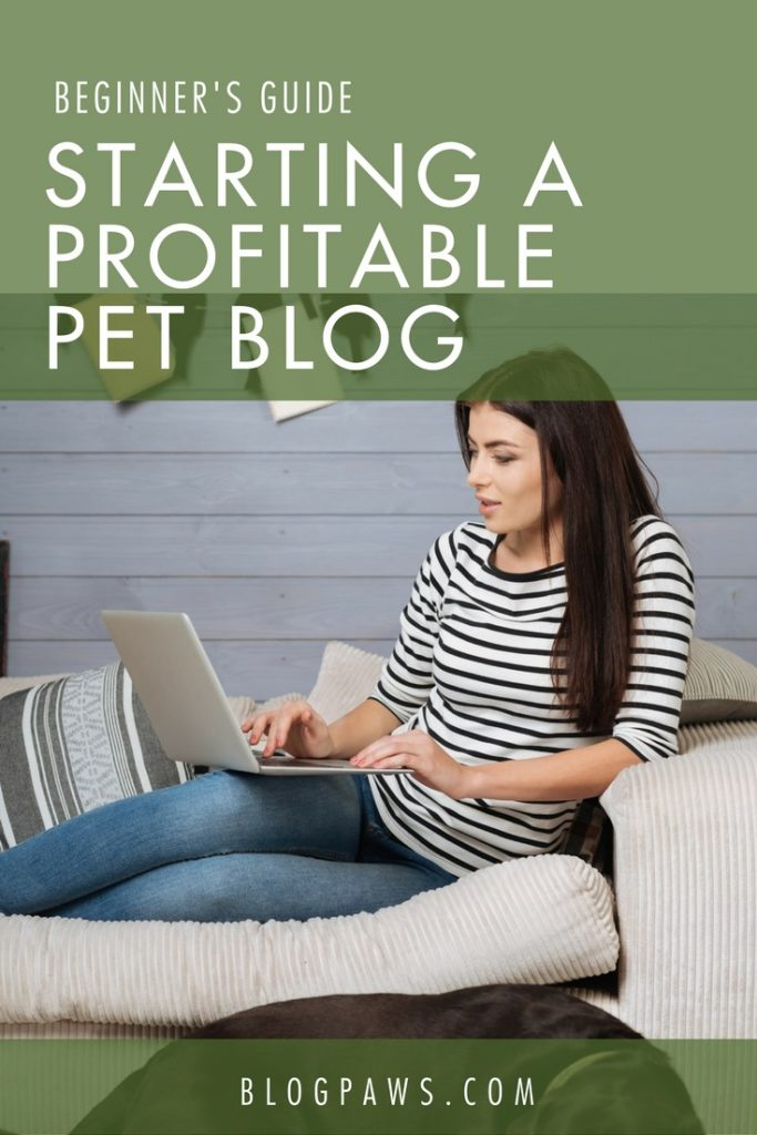 beginners guide to profitable pet blog