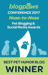 Best Pet Humor Blog badge