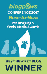 Best New Pet Blog badge