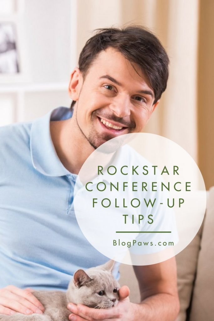 conference follow up tips