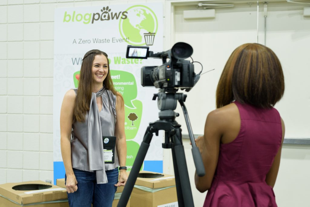 Environmentally friendly interview