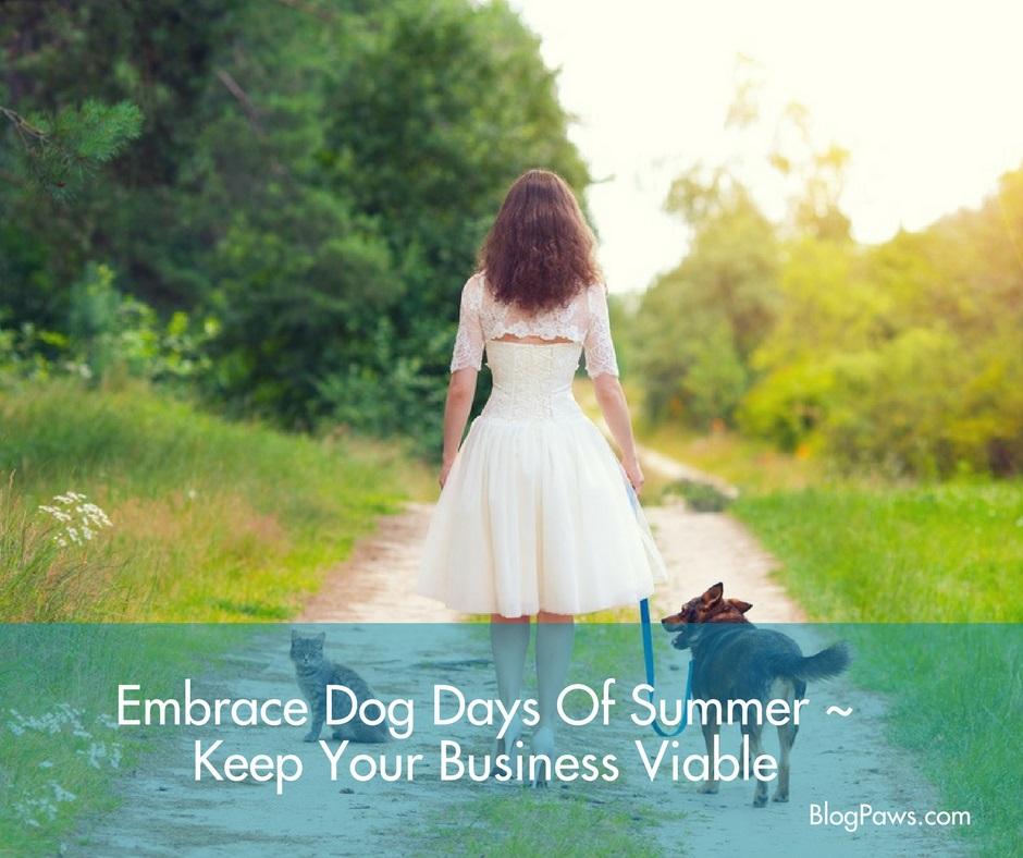 embrace dog days of summer