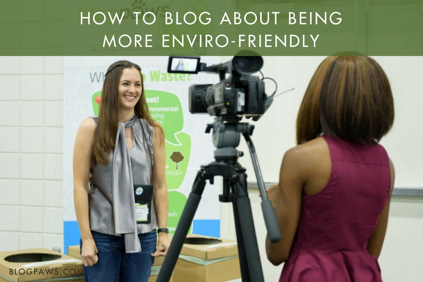 Blog about the environment