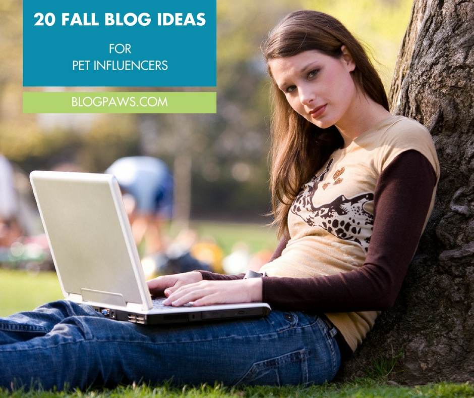 Fall blogging prompts