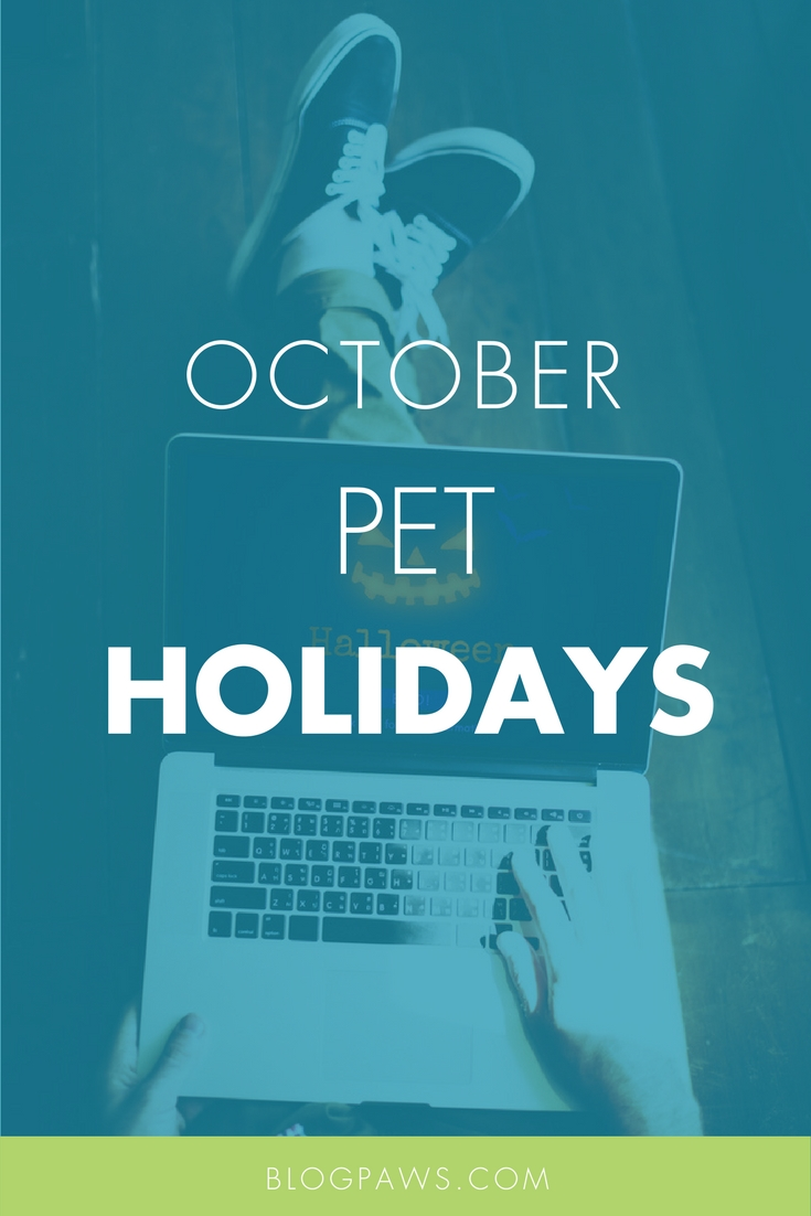 October Pet Holidays