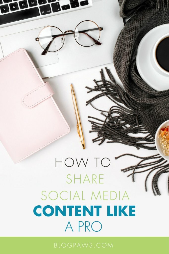 how to share social media properly