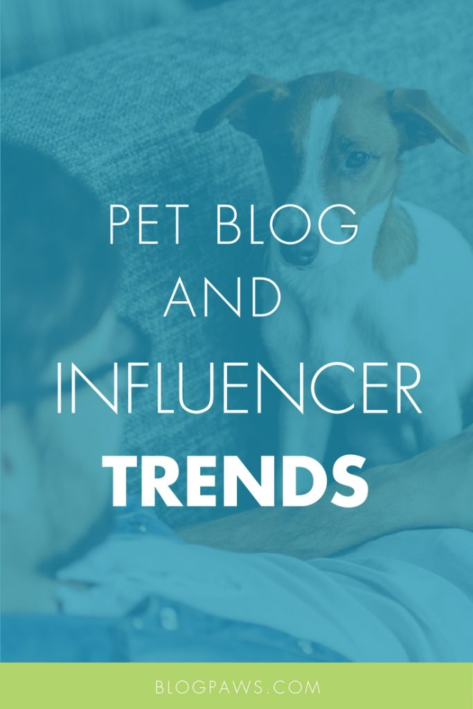 Pet blog trends