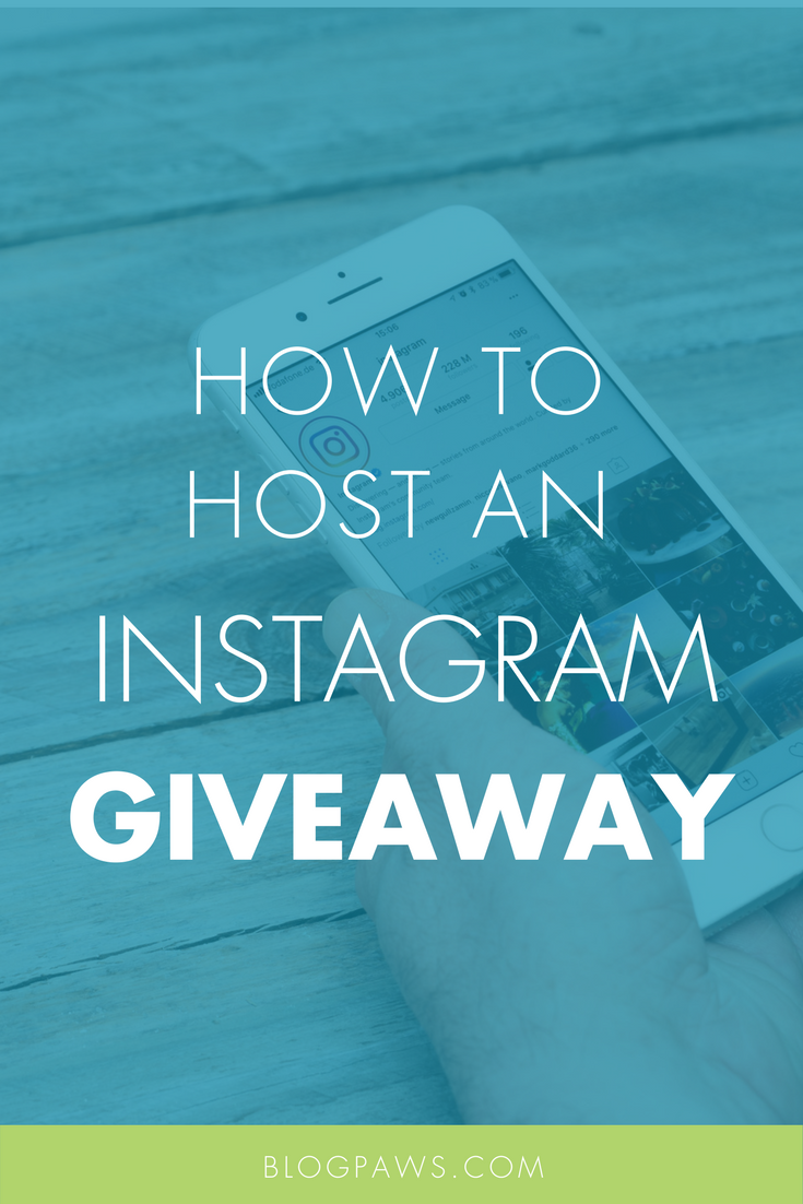 How to Host an Instagram Giveaway - BlogPaws