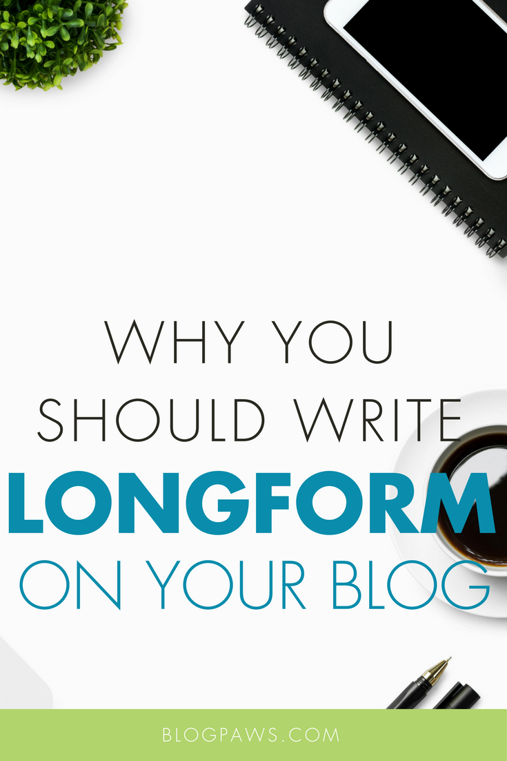 Why You Should Write Longform Guides on Your Blog