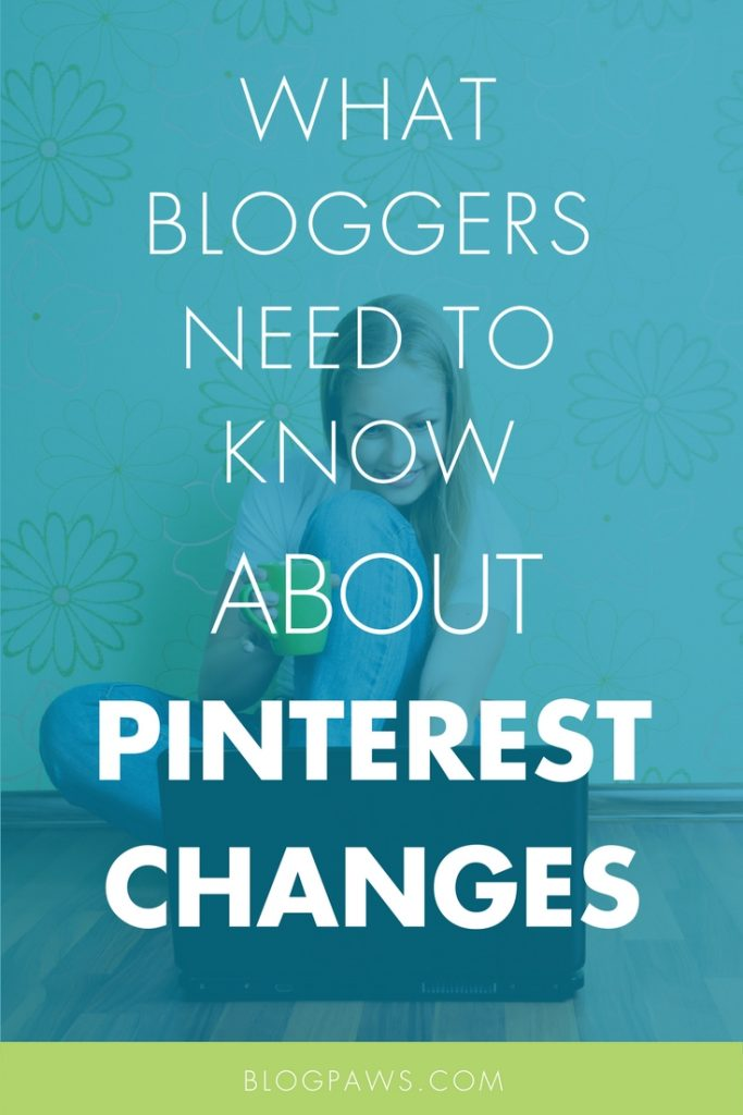 Pinterest changes blogger