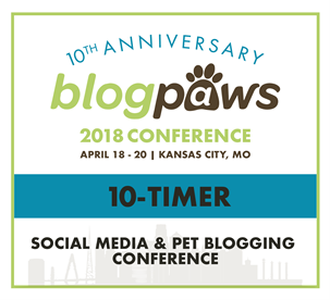 I've never missed this conference and I'm going to BlogPaws 2018! Come see why!
